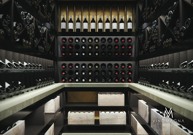 wine cellar design modern wine cellar london by