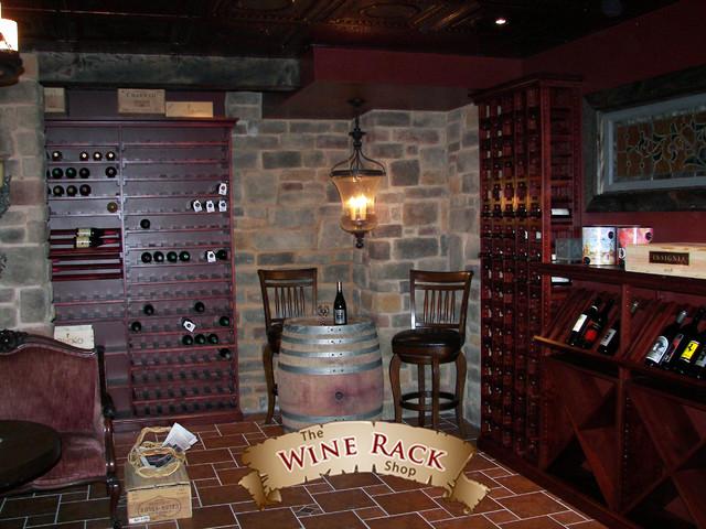 Wine Cellar Design traditional-wine-cellar