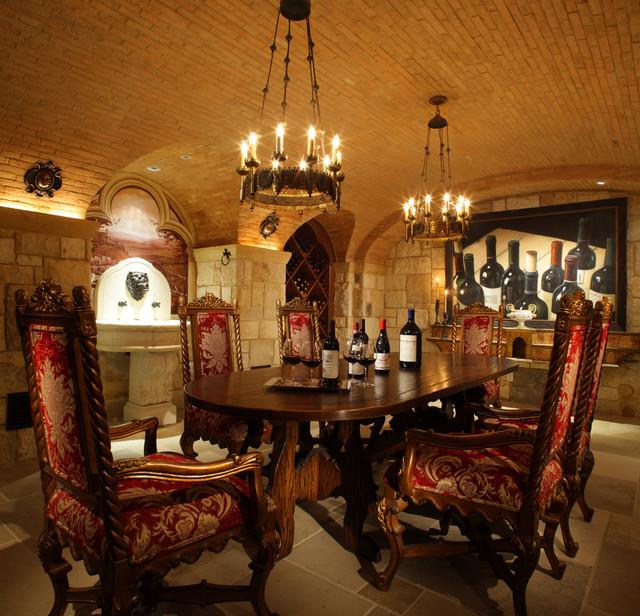Wine cellar for Kitchen design 01532