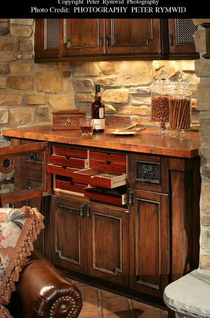 Wine Cellar Humidor - Traditional - Wine Cellar - new york - by Carisa ...