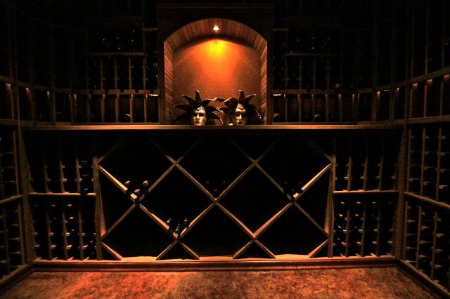 Wine Cellar in Magnolia in Seattle Washington traditional-wine-cellar