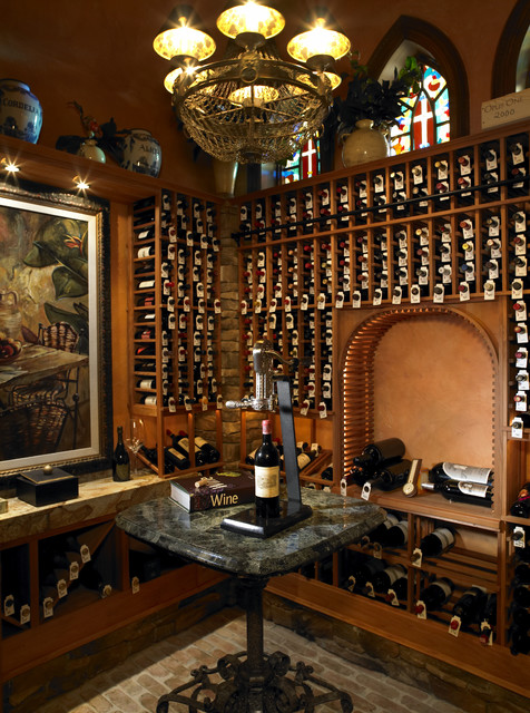 Wine Cellar In The Tourmaline By Alvarez Homes Builder Of