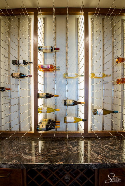Wine Cellar - Modern - Wine Cellar - Charlotte - by International Granite & Marble- Atlanta