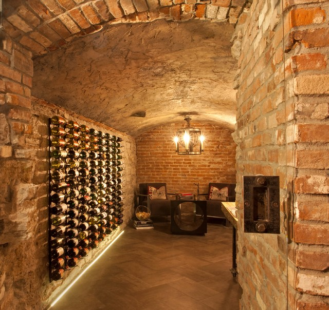 Wine Cellar Rustic Minneapolis By