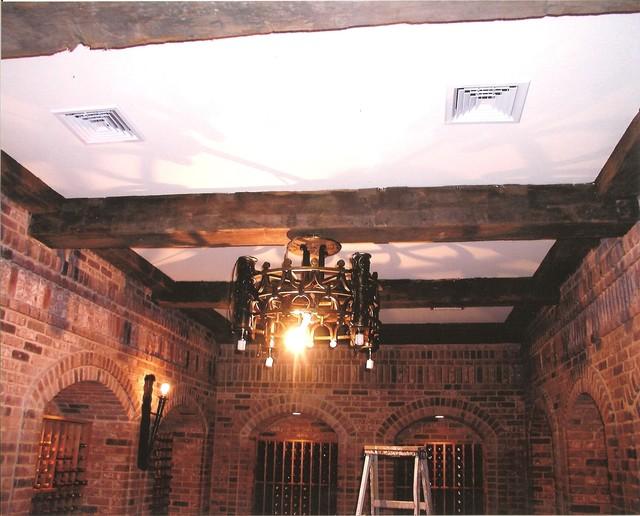 Wine Cellar Iron Light
