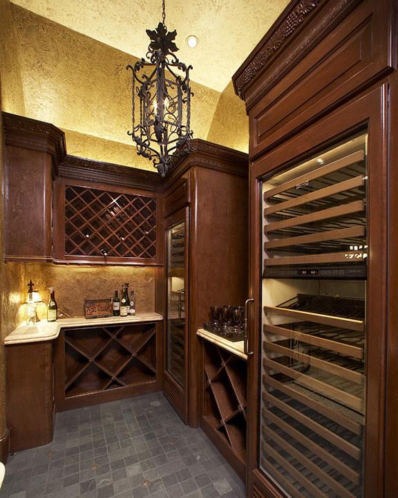 615 E. 19th - Traditional - Wine Cellar - Houston - by ... |Wine Cellar Houston