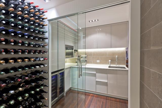Wine Cellar Kitchen modern-wine-cellar
