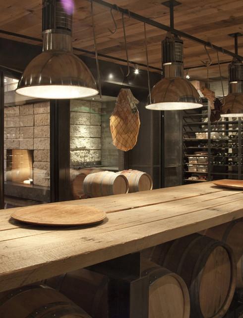 Wine cellar contemporary-wine-cellar