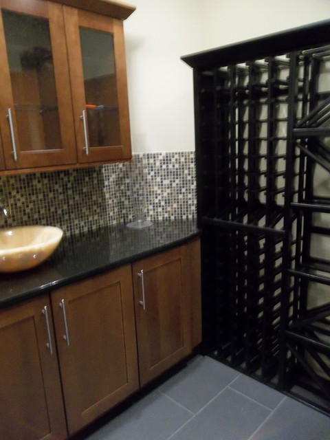 Wine Cellar - Little Silver, New Jersey contemporary-wine-cellar