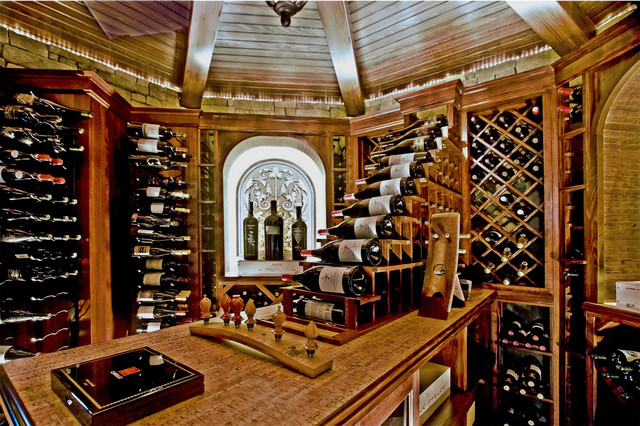 Wine cellar for Luxury home wine cellars