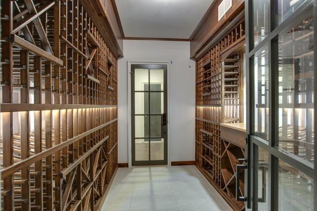 Wine cellar - wine cellar idea in Charlotte