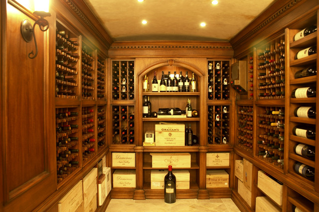 Bar and Wine Cellar traditional wine cellar