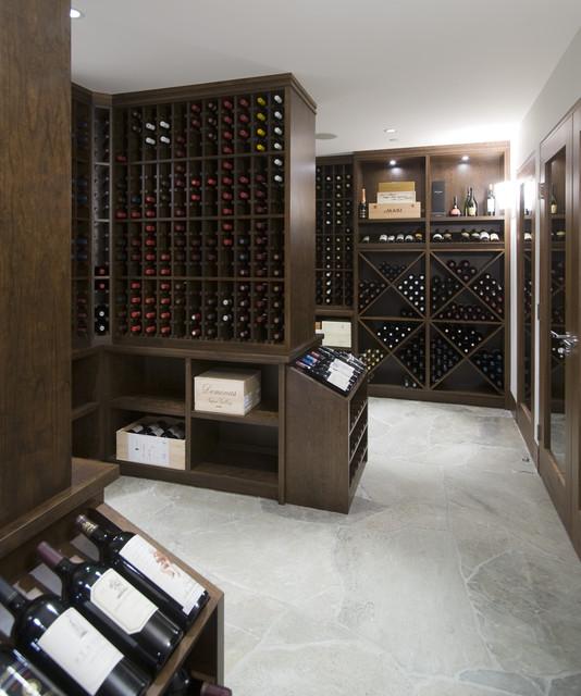 Wine cellar modern-wine-cellar