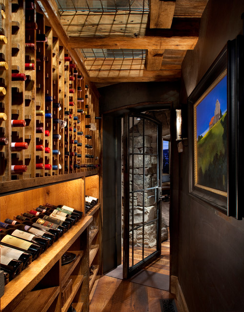 Wine Cellar - Rustic - Wine Cellar - other metro - by ...