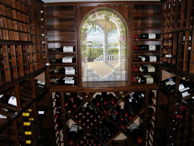 wine cellar photos traditional-wine-cellar