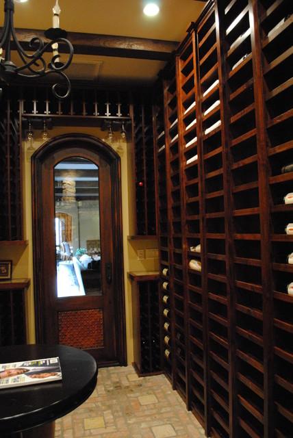 Wine cellar for Garage wine cellar