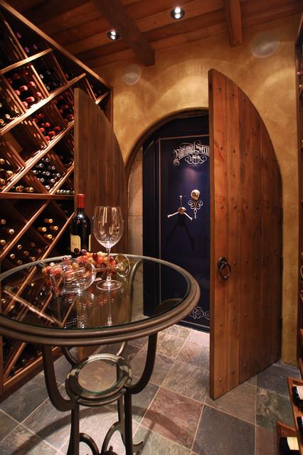 Wine Cellar traditional-wine-cellar & Wine Cellar - Traditional - Wine Cellar - Portland - by Renovation ...