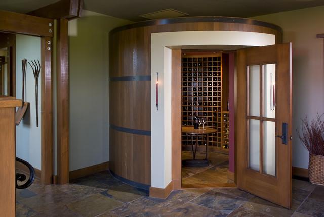 Wine Cellar eclectic-wine-cellar