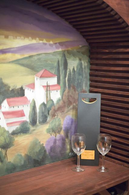 Basement wine-cellar