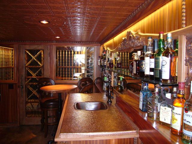 Wine Cellar Speakeasy traditional-wine-cellar