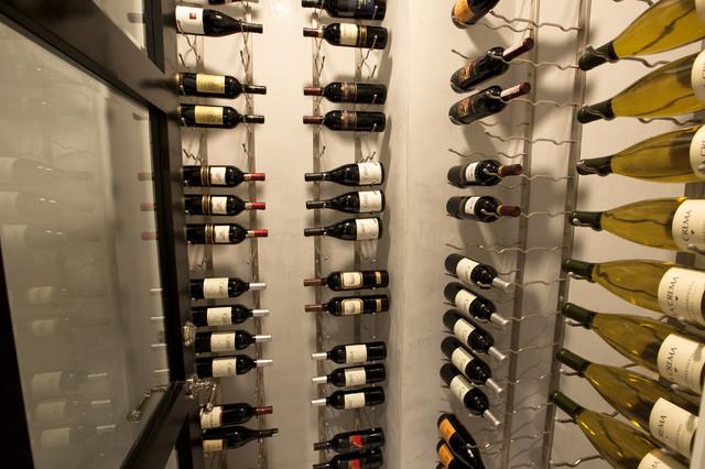 Wine Cellar transitional-wine-cellar