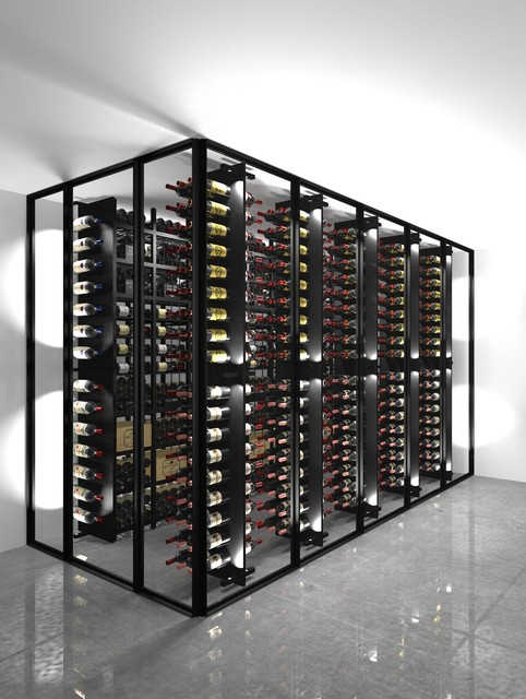 Wine cellars and wine cabinets - 3D Design modern-wine-cellar