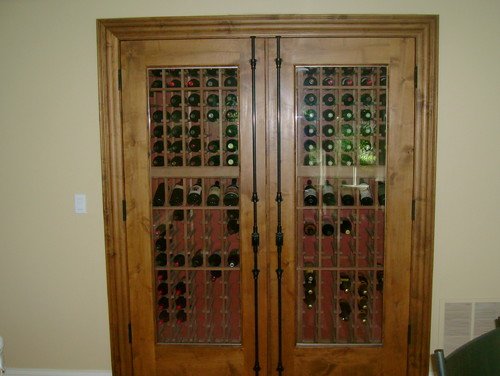 what type of wood is the door frame and molding was it stain grade that you colored