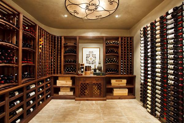 Wine Cellars mediterranean-wine-cellar & Wine Cellars