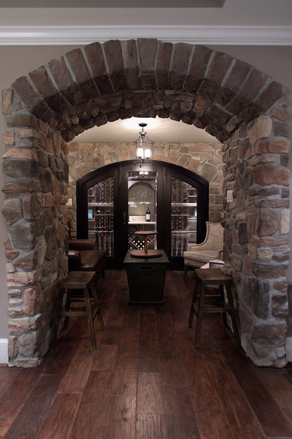 Wine Closet &Tasting Room in Maryland traditional-wine-cellar