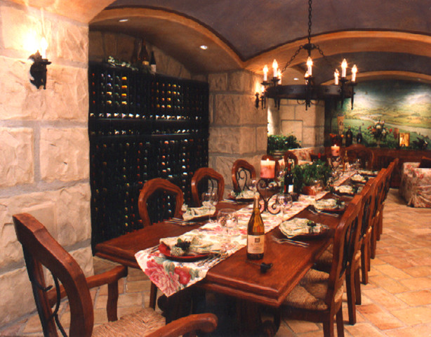 wine traditional wine cellar