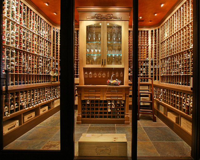Wine Room Traditional Wine Cellar Phoenix By Arizona Designs Kitchens And Baths