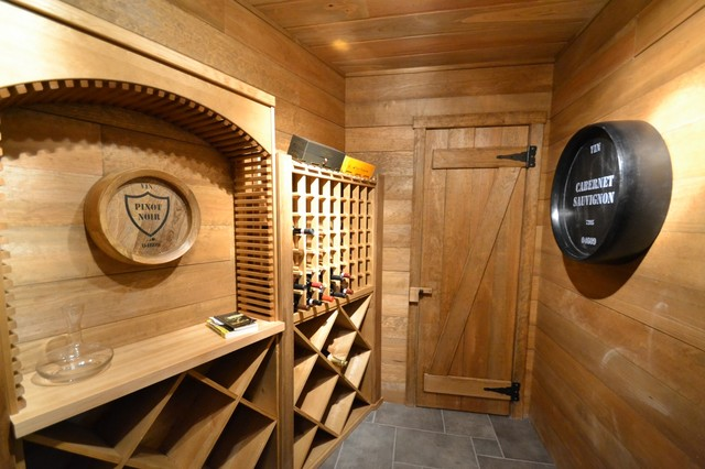 Wine Room Rustic Wine Cellar Baltimore By Benhoff