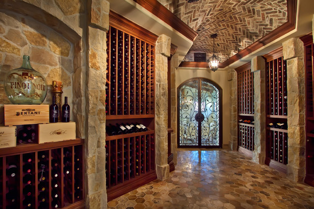 Wine room designed by susan spath traditional wine cellar other metro by kern co - Home wine cellar design ideas cool ones ...