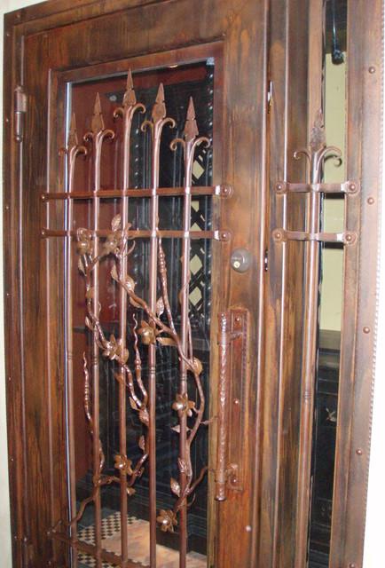 Wine Room Door wine-cellar
