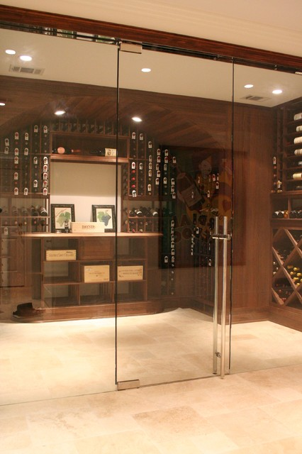 Wine Room Contemporary Wine Cellar Atlanta By