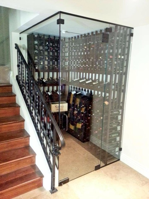 Wine Room Glass Enclosure