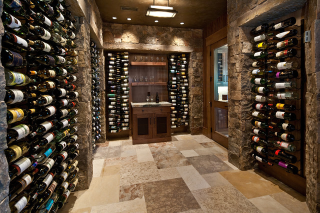 Wine room for Building wine cellar
