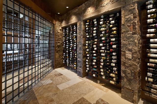 8 Wine Cellars Overflowing With Artful Storage