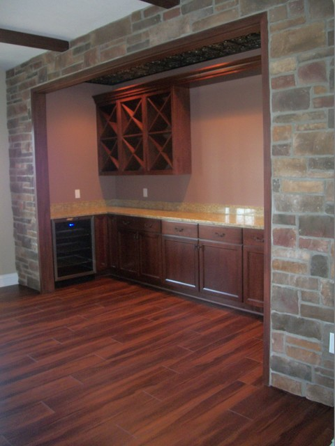 Wine Room New Construction, Wadsworth, OH #1 traditional-wine-cellar