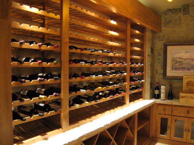 Wine room contemporary-wine-cellar