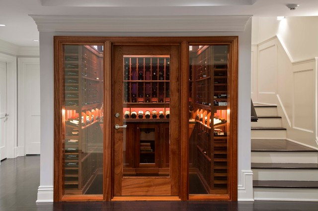 Traditional Wine Cellar By Steven Mueller Architects Llc