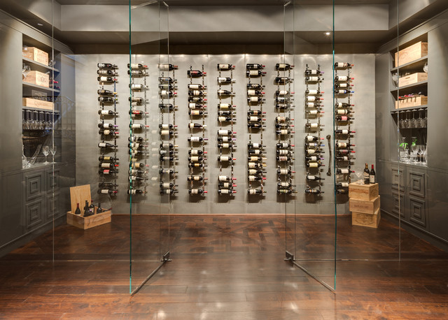 Wine Room Contemporary Wine Cellar Atlanta By The