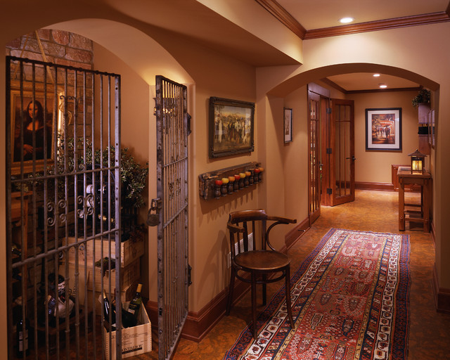 Wine Room - traditional - wine cellar - minneapolis - by Twist ...