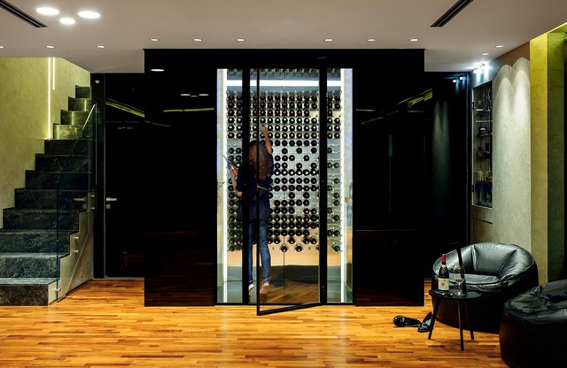 Wine Storage Modern Cellar Orange County By Am