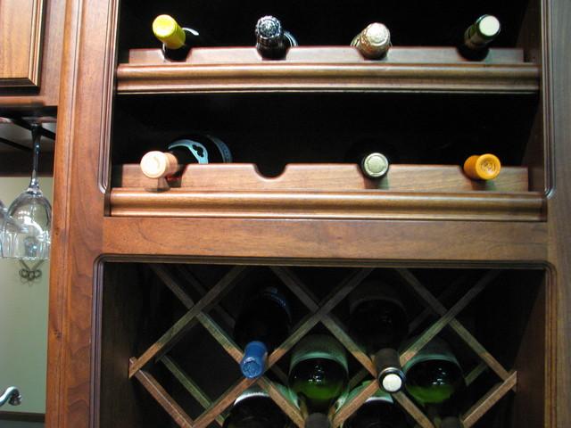 wine bottle storage details traditional-wine-cellar