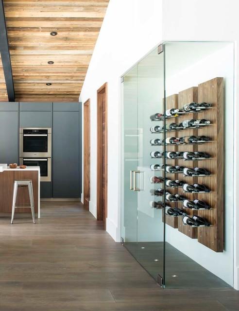 Wine Storage - Contemporary - Wine Cellar - Denver - by Vail Custom Builders