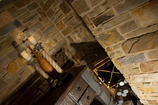 Wine Vault eclectic-wine-cellar