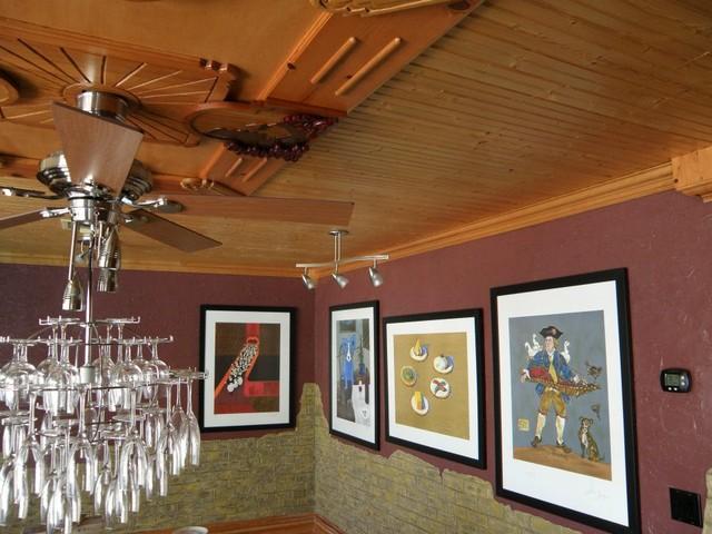 Wine, wine, wine eclectic-wine-cellar