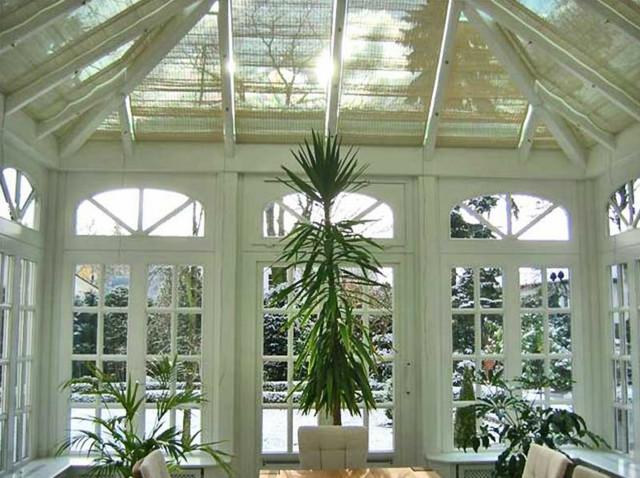 Wintergarten Englischer Stil englischer wintergarten in viktorianischem stil mit laternendach