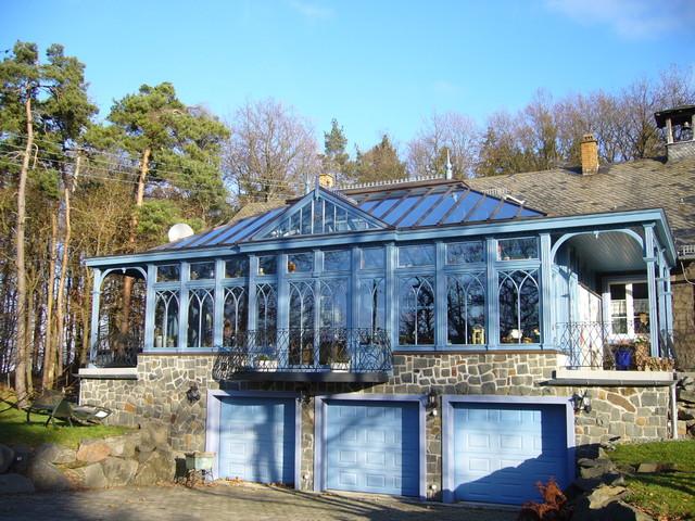 Wintergarten Viktorianischer Stil englischer wintergarten mit 2 terrassenüberdachungen im